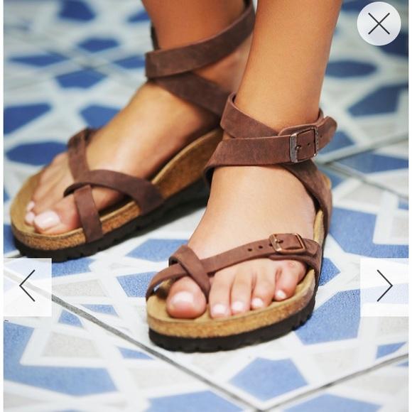 Women's Birkenstock, Yara Oiled Leather Sandal
